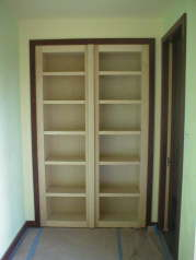 Closed Secret Bookcase